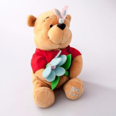 Disney Company Mothers Day Winnie the Pooh With Butterfly Beanie Bear No tags