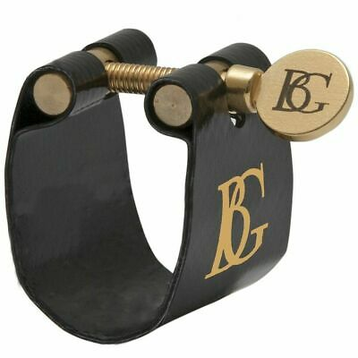 BG LF A Ligature with Cap for Alto Saxophone - Flex Fabric Made in France