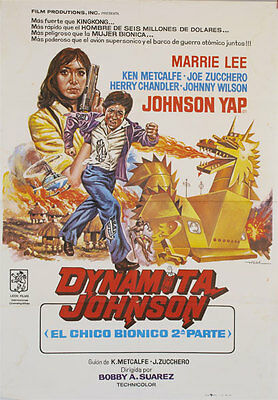 Dynamita Johnson -- Cartel de Cine Original --