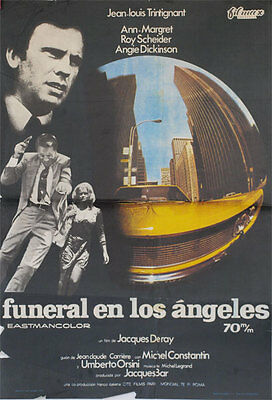 Funeral en Los Angeles  -- Cartel de Cine Original --