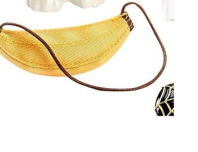 New  Charlotte Olympia Barbie Doll Banana Purse ( Purse Only)