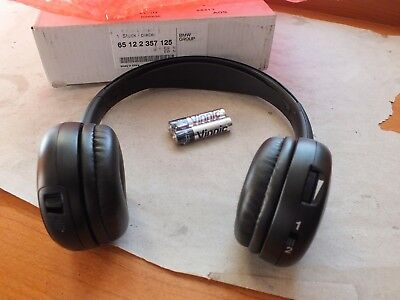 Genuine BMW Infra red wireless cordless headphones   65122357125  BM4