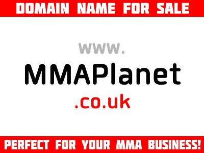 MMAPlanet.co.uk Domain Name for Sale [MMA UFC BJJ Mixed Martial Arts Planet]