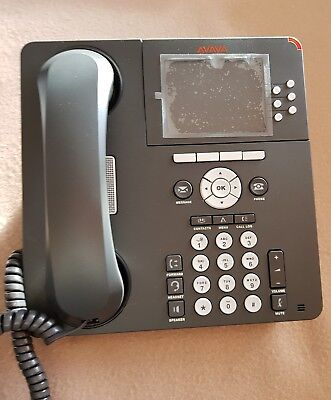Avaya 9640 LCD Display VOIP Telephone Phone Voice over IP Business