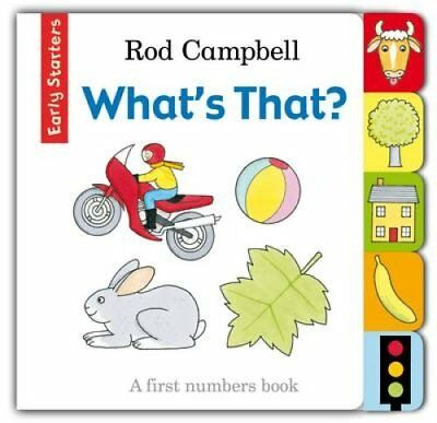What's That? by Rod Campbell 9781447243151 (Board book, 2014)