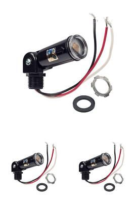 LED Compatible 120V Dusk To Dawn Outdoor Swivel Photo Control, Photocell TOP NEW