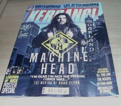 Kerrang! magazine #1705 Machine Head, Waterparks, All TIme Low, The Xcerts &more