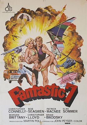 Fantastic 7 -- Cartel de Cine Original --