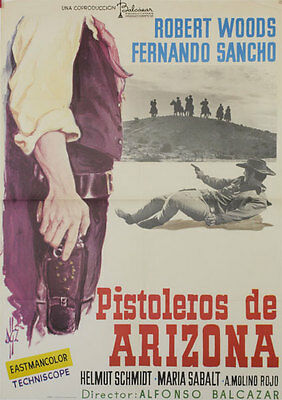 Pistoleros de Arizona  -- Cartel de Cine Original --