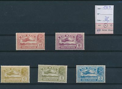 LH77238 Br India 1929 King George V airplanes airmail MH cv 38 EUR