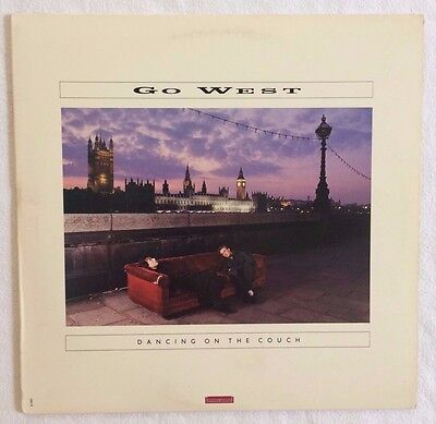 Go West - Dancing on the Couch 33 rpm record  1987 original album