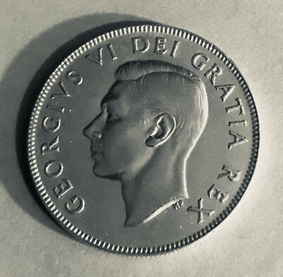 1951 Canadian 50 Cent