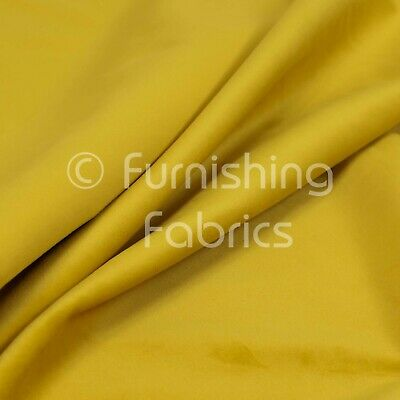 New Soft Plush Plain Glossy Velvet Modern Upholstery Curtain Fabric Lemon Colour