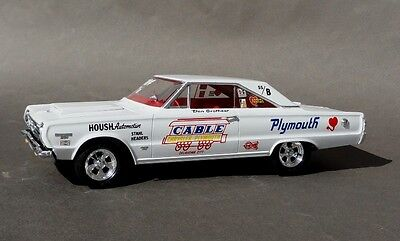 1967 Plymouth Don Grotheer's Super Stocker 1/25th scale Cable Motors decal