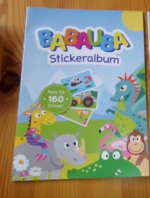Babauba Goodies Stickeralbum Neu