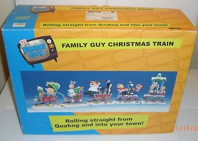 Hamilton Collectible Family Guy Christmas Train With Box