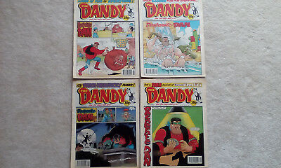 THE DANDY COMIC - ISSUE NUMBERS 2776 2783 2787 and 2791 ( from 1995)