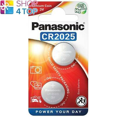 2 Panasonic Lithium Power Cr2025 Batteries 3V Dl2025 Exp 2028 Indonesia New