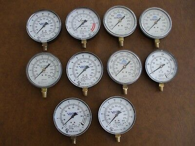 10 Air And Water Gauges Viking More Steampunk Industrial Art