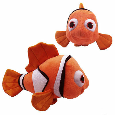 "10"" Baby Boy Cute Girl Finding Nemo Figures Stuffed Plush Soft  Doll Kids Toy"