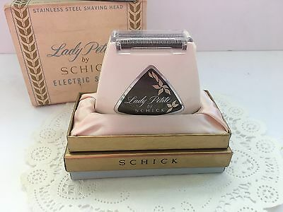 Vintage New Old Stock 1950's Mid Century Lady Petite by Schick Electric Shaver