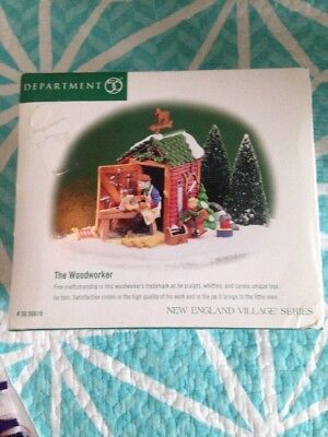 Department 56 New England Village Series The Woodworker