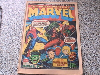 The Mighty World Of Marvel # 12 - Dec 1972