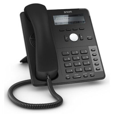 Snom D715 Business SIP Phone Schwarz #wieneu