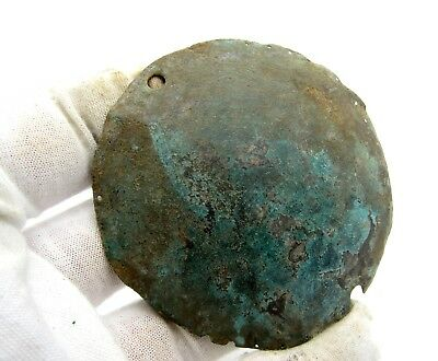 Roman Legionary Armor Plate - Rare Ancient Historic Artifact - Q841