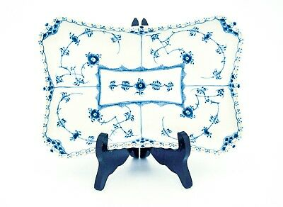 Serving Tray #1195 - Blue Fluted - Royal Copenhagen - Full Lace - 2:nd quality