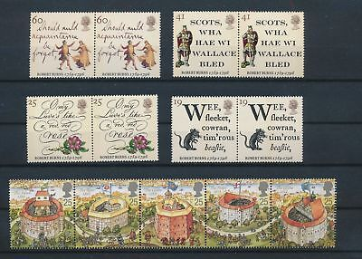 LH74617 Great Britain nice lot of good stamps MNH