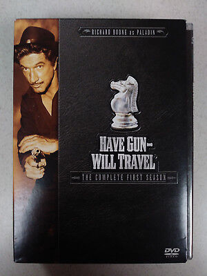 Have Gun Will Travel - The Complete First Season (DVD, 2004, 6-Disc Set)