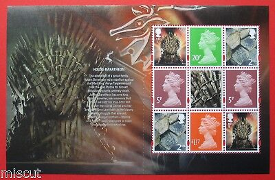 DY24 2018 Game of Thrones™  Prestige DEFINITIVE BOOKLET Pane
