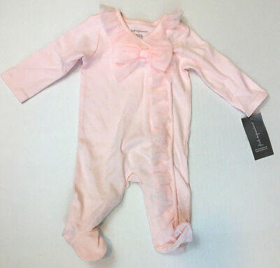 """First Impressions Footed Tulle Coverall, Baby Girls, Newborn (up to 21"""", 8 lbs)"""