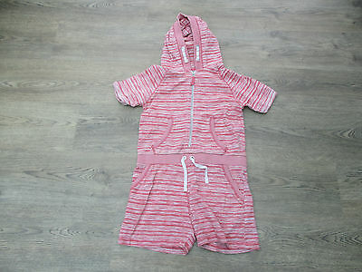 **age 12 Years Girls Jumpsuit/playsuit From Next, Red & White Striped (B)**