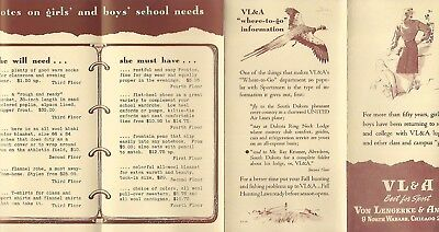 Abercrombie & Fitch / Vl&a~ Outfitters Vintage Catalog Pamphlet Brochure #10