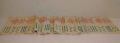 New! African Handmade Mali Mudcloth Table Runner