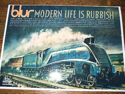 Blur 'Modern Life Is Rubbish' Poster