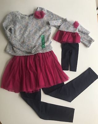 Brand New Dollie and Me - doll matching dress outfit clothes fit american girl