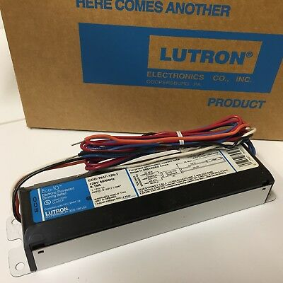 Lutron ECO-10 ECO T825 120V T8 Electronic Fluorescent Dimming Ballast