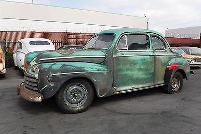 1946 Ford Coupe V8 - orig. 60's Hot Rod, California Patina, ! Nur 7% Zoll