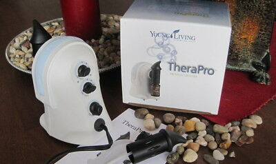 NEW Young Living TheraPro Essential Oil Atomizing Diffuser with FREE STUFF