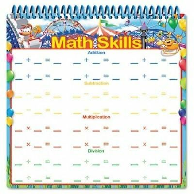 All About Me Dry Erase Learning Book; Math; Grades Pre-K and Up Pack of Four (4)