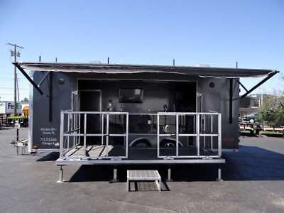 BBQ Trailer Fully Equipped with 3 smokers.