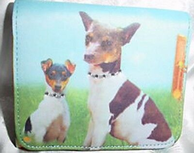 Rat Terrier Microfiber Mini Wallet