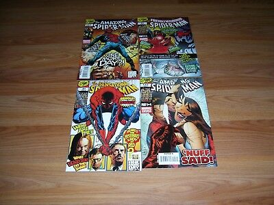 Spider-Man One More Day Amazing 544 545 Sensational 41 Friendly 24 Complete Set