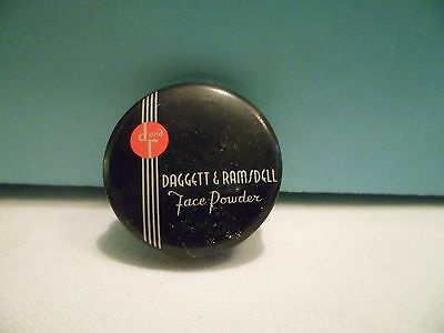 Vintage Daggett and Ramsdell Face Powder Tin
