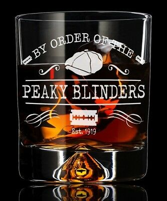 Whiskey Tumbler Glass Gift For Him Her Or Any Peaky Fan