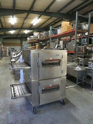 Lincoln Impinger Double Stack Pizza Conveyor Ovens, #1000 Hp (High Output)