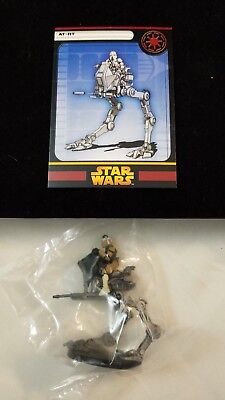 Star Wars Miniatures Revenge of the Sith 4/60 AT-RT VERY RARE sealed w/card